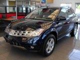 2003 Midnight Blue Pearl Nissan Murano SL AWD #17704690