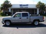 2006 Graystone Metallic Chevrolet Silverado 1500 LS Crew Cab #17698268