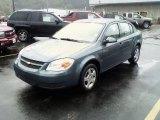 2007 Blue Granite Metallic Chevrolet Cobalt LT Sedan #17687201