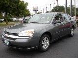 2005 Medium Gray Metallic Chevrolet Malibu LS V6 Sedan #17686078