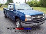 2003 Arrival Blue Metallic Chevrolet Silverado 1500 Z71 Extended Cab 4x4 #17700519