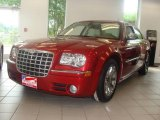 2008 Inferno Red Crystal Pearl Chrysler 300 C HEMI Heritage Edition #17697759