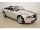 2005 Satin Silver Metallic Ford Mustang GT Premium Convertible #17703886