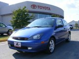 2003 French Blue Metallic Ford Focus ZX3 Coupe #17698059