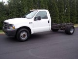 2003 Ford F350 Super Duty XL Regular Cab Chassis Data, Info and Specs