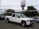 2009 Summit White Chevrolet Silverado 1500 LS Crew Cab 4x4 #17689258