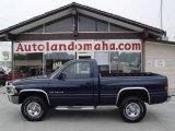 2001 Patriot Blue Pearl Dodge Ram 1500 ST Regular Cab 4x4 #17697577