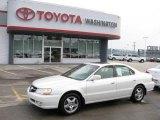 2003 White Diamond Pearl Acura TL 3.2 #17737871