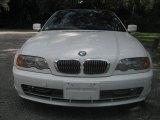 2002 Alpine White BMW 3 Series 330i Convertible #17746980
