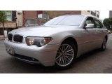 2003 Titanium Silver Metallic BMW 7 Series 745i Sedan #17741240