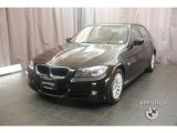 2009 Jet Black BMW 3 Series 328i Sedan #17731788