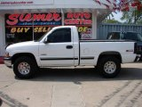2002 Summit White Chevrolet Silverado 1500 LS Regular Cab 4x4 #17742262