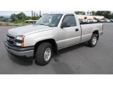 2006 Silver Birch Metallic Chevrolet Silverado 1500 Regular Cab 4x4 #17746000