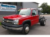 2004 Chevrolet Silverado 3500HD Regular Cab 4x4 Chassis Data, Info and Specs