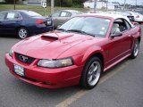 2002 Laser Red Metallic Ford Mustang GT Convertible #17738491