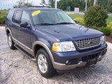 2003 Medium Wedgewood Blue Metallic Ford Explorer Eddie Bauer 4x4 #17749166
