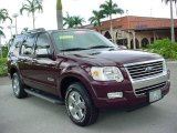 2006 Dark Cherry Metallic Ford Explorer Limited #17736636