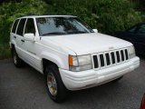1996 Stone White Jeep Grand Cherokee Limited 4x4 #17739797