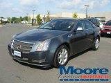 2009 Thunder Gray ChromaFlair Cadillac CTS Sedan #17734888