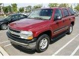 2005 Sport Red Metallic Chevrolet Tahoe LS 4x4 #17742253