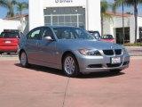 2007 Arctic Metallic BMW 3 Series 328i Sedan #17734225