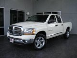2006 Bright White Dodge Ram 1500 SLT Quad Cab #17732949