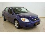 2007 Laser Blue Metallic Chevrolet Cobalt LS Sedan #17704604