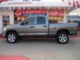 2007 Mineral Gray Metallic Dodge Ram 1500 Big Horn Edition Quad Cab 4x4 #17697790
