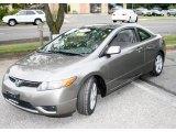 2007 Galaxy Gray Metallic Honda Civic EX Coupe #17735690