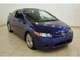 2007 Royal Blue Pearl Honda Civic Si Coupe #17748717
