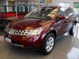 2006 Merlot Pearl Nissan Murano S AWD #17749082