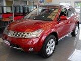 2006 Sunset Red Pearl Metallic Nissan Murano SL #17749086