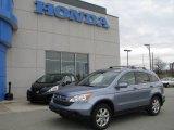 2007 Glacier Blue Metallic Honda CR-V EX-L 4WD #17731403