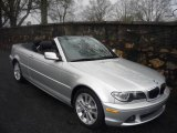 2006 Titanium Silver Metallic BMW 3 Series 330i Convertible #1768966