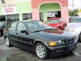 2001 Jet Black BMW 3 Series 325i Sedan #17838924