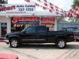 2005 Black Chevrolet Silverado 1500 Z71 Extended Cab 4x4 #17836617