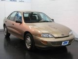 Gold Metallic Chevrolet Cavalier in 1998