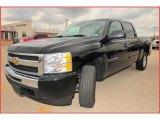 2009 Black Chevrolet Silverado 1500 LT Crew Cab #17835731