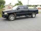 2001 Black Dodge Ram 1500 SLT Club Cab 4x4 #17837085