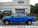 2010 Blue Flame Metallic Ford F150 STX SuperCab 4x4 #17827177