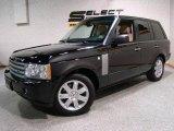 2007 Java Black Pearl Land Rover Range Rover HSE #17831671