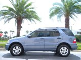 2005 Platinum Blue Metallic Mercedes-Benz ML 350 4Matic #17826974
