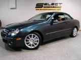 2007 Black Opal Metallic Mercedes-Benz CLK 350 Cabriolet #17831670