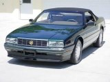 1993 Polo Green Metallic Cadillac Allante Convertible #17840374