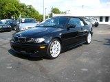 2006 Jet Black BMW 3 Series 330i Convertible #17831516