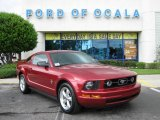 2007 Redfire Metallic Ford Mustang V6 Premium Coupe #17831436