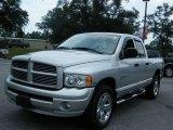 2005 Bright Silver Metallic Dodge Ram 1500 SLT Quad Cab 4x4 #17831974
