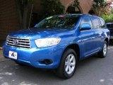 2008 Blue Streak Metallic Toyota Highlander 4WD #17839527