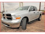 2009 Bright Silver Metallic Dodge Ram 1500 SLT Crew Cab #17835736