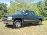 2002 Forest Green Metallic Chevrolet Silverado 1500 Extended Cab 4x4 #17903468